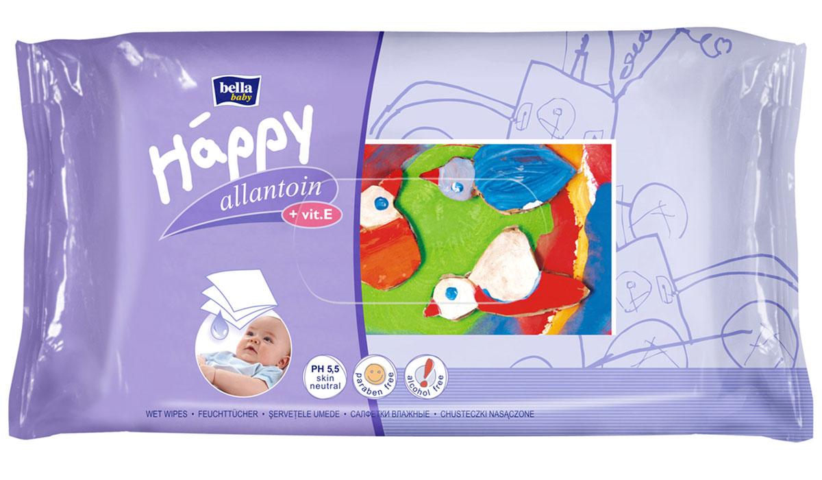 цены на Bella baby Happy Влажные салфетки детские Delicate Lotion c витамином E 64 шт  в интернет-магазинах