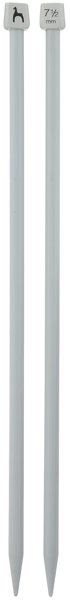 Спицы Pony, прямые, диаметр 7,5 мм, длина 30 см, 2 шт32266Легкие и прочные спицы Pony, изготовленные из пластика, предназначены для вязания широких деталей изделия, например, спинки, переда, рукавов. Ограничители препятствуют соскальзыванию петель. Спицы из пластика подходят людям с аллергией на металлы. Вы сможете вязать для себя и делать подарки друзьям. Рукоделие всегда считалось изысканным, благородным делом. Работа, сделанная своими руками, долго будет радовать вас и ваших близких.