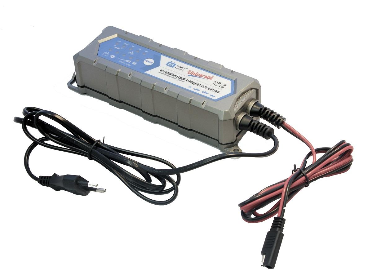 Зарядное устройство Battery Service Universal. PL-C004P зарядное устройство акб gs 6в 12в 10a с индикатором зарядки защитой от короткого замыкания golden snail gs 9216