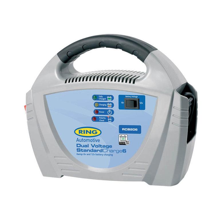 Зарядное устройство Ring Automotive. RECB206 зарядное устройство акб gs 6в 12в 10a с индикатором зарядки защитой от короткого замыкания golden snail gs 9216