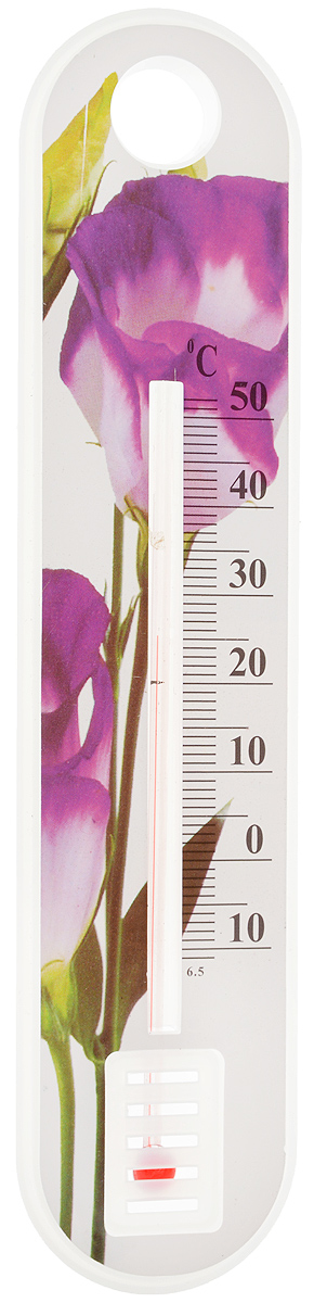 Термометр уличный Village People Цветы. Фрезия, 19 х 4,3 см украшение на ножке village people соломенные веселые цветы цвет зеленый 66945 1