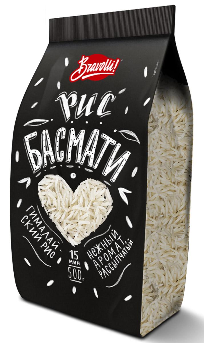 Bravolli Басмати рис, 500 г