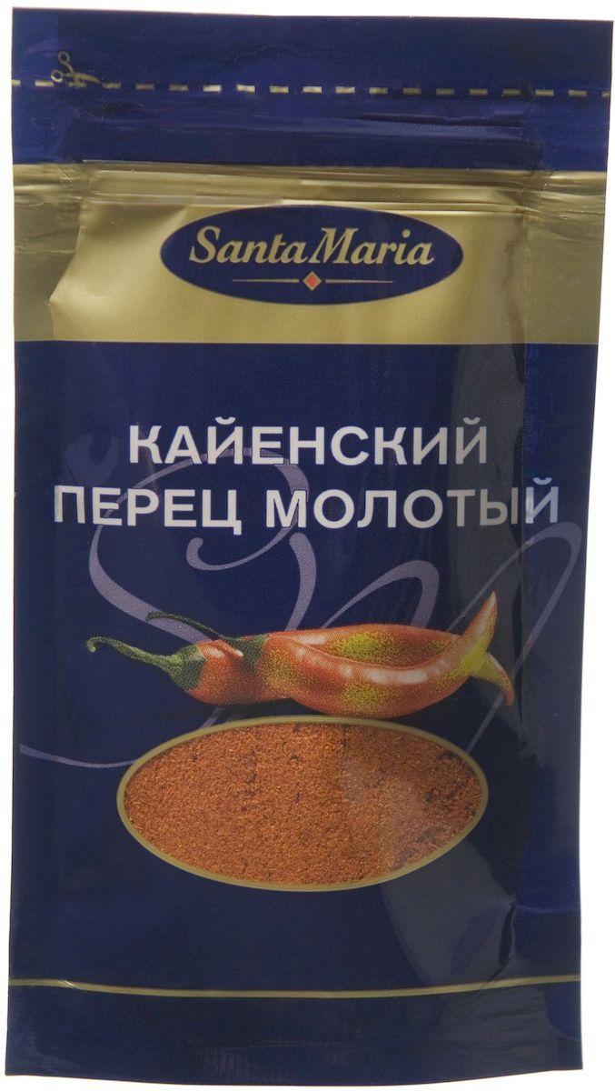 Santa Maria Кайенский перец молотый, 18 г santa maria душистый перец дробленый 320 г