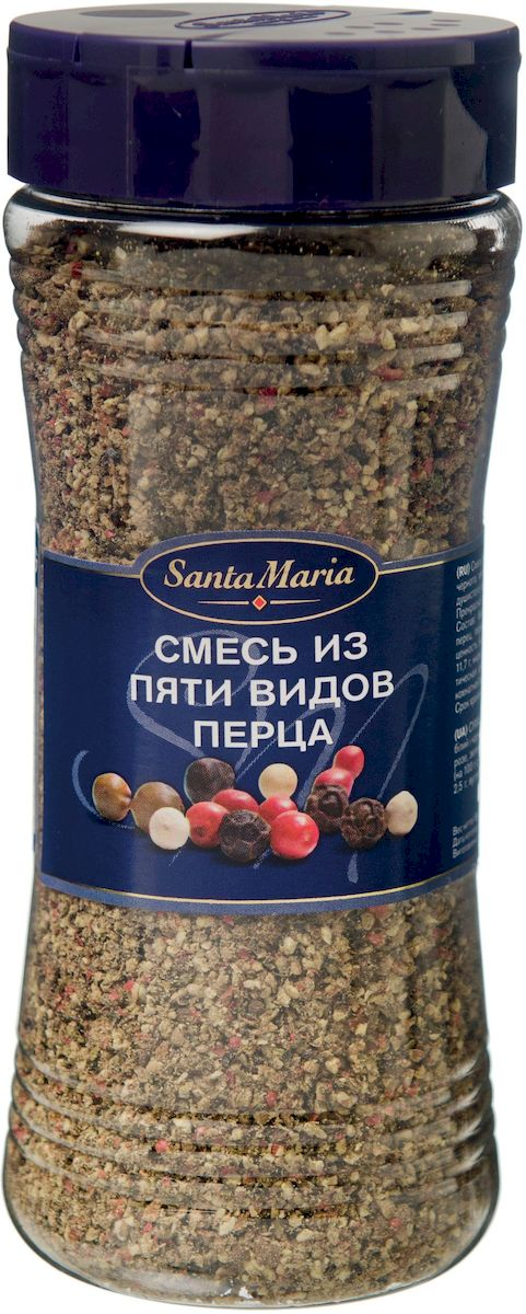 Santa Maria Смесь из пяти видов перца, 190 г