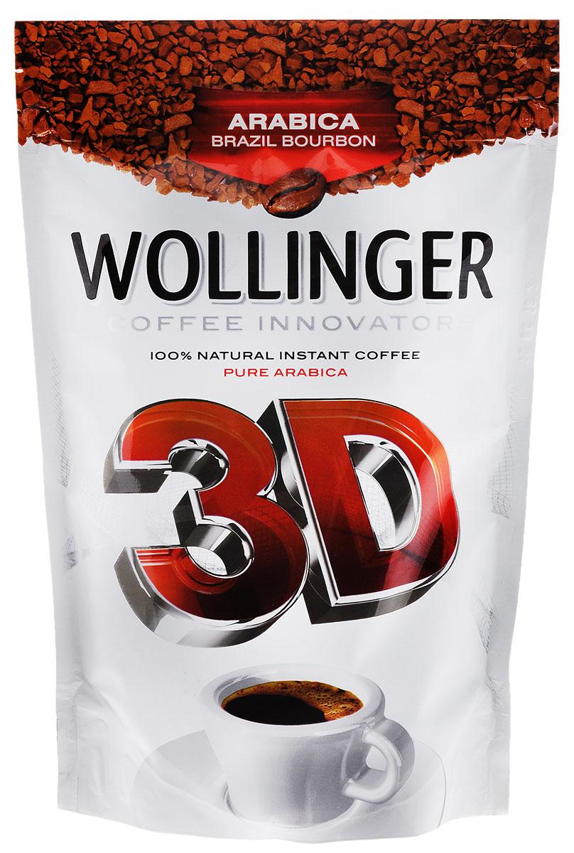 Wollinger 3D кофе растворимый, 150 г