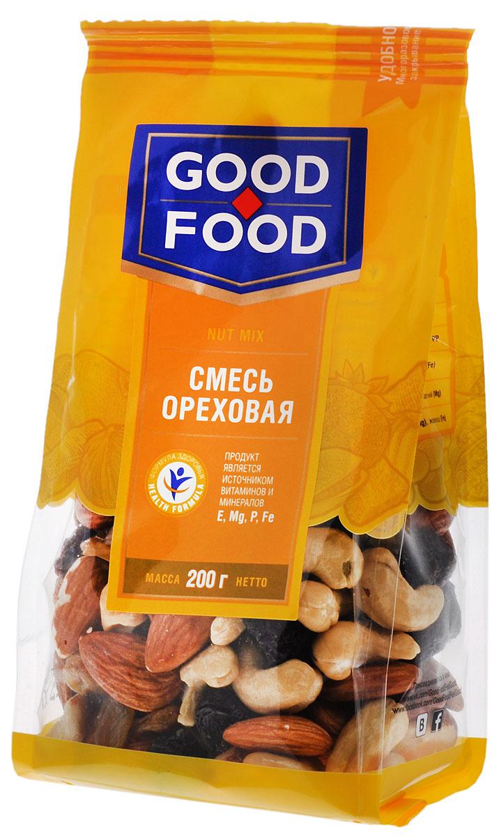 Good Food смесьореховая,200г все цены