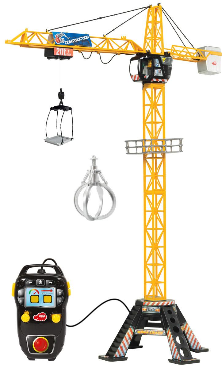 Dickie Toys Башенный кран Mega Crane радиоуправляемые игрушки dickie