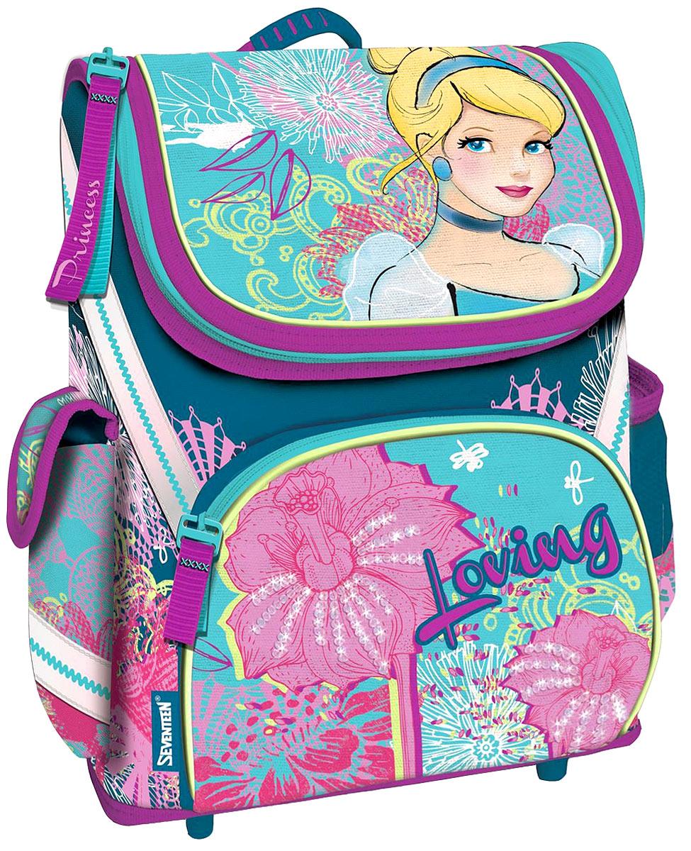Disney Princess Ранец школьный Loving disney ранец школьный феи и невиданный зверь