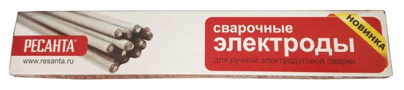 Электрод сварочный Ресанта МР-3 Ф3,0, 3 кг электроды для сварки ресанта мр 3 ф5 0 3кг