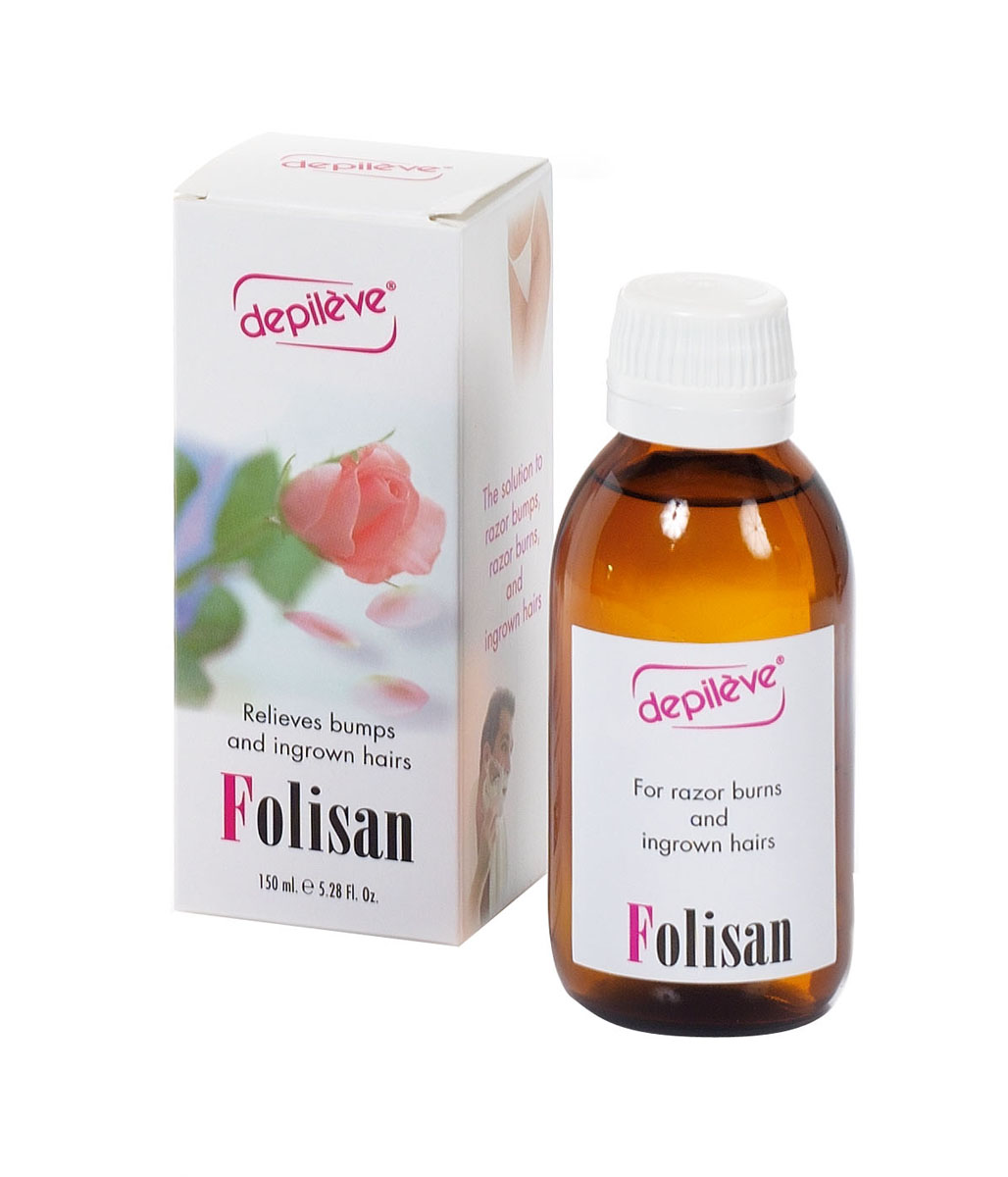 Depileve Лосьон против вросших волос FOLISAN, 150 мл. cristaline ng лосьон против вросших волос 250мл