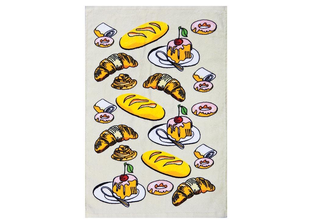 Полотенце кухонное Soavita Завтрак, 40 х 60 см полотенце кухонное soavita ку ка ре ку цвет фисташковый 40 х 60 см