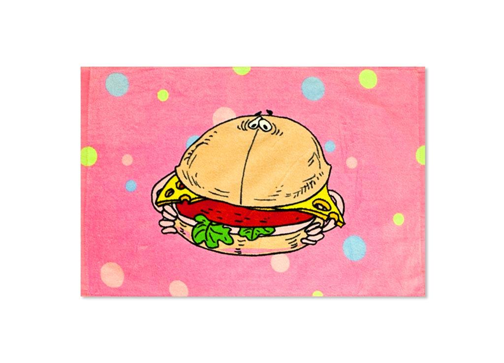 Полотенце кухонное Soavita Гамбургер, 40 х 60 см крестовина 1 вн valtec vtr 760 n 0006