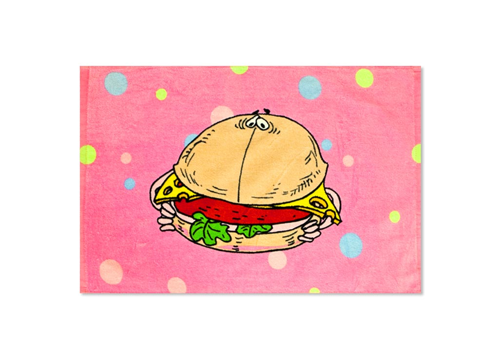 Полотенце кухонное Soavita Гамбургер, 40 х 60 см блендер galaxy gl 2118