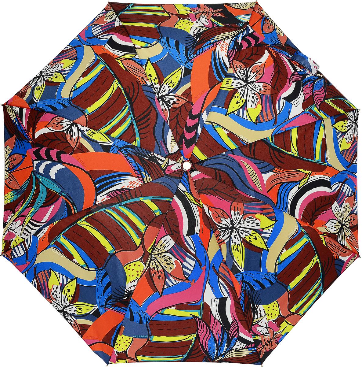 PERTEGAZ 85151-1 Зонт полный автом. 3 сл. жен. зонты