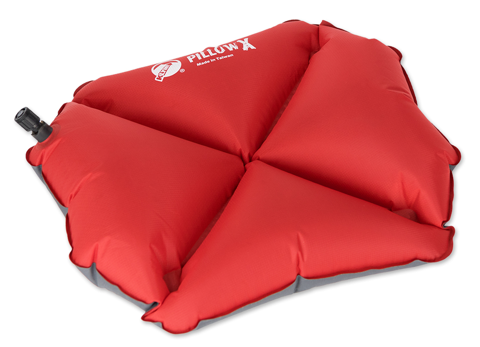 Надувная подушка Klymit Pillow X Red, цвет: красный термос biostal 1l white nb 1000c w