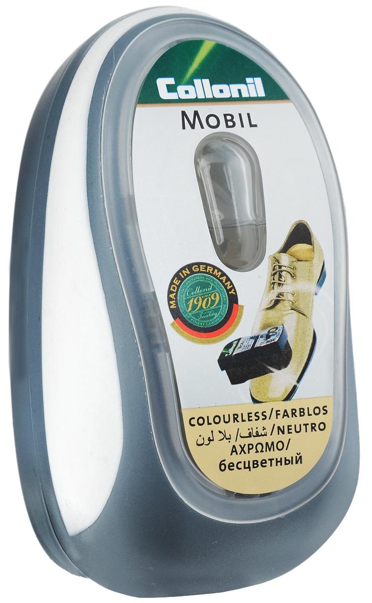 Губка для придания блеска обуви Collonil Mobil, цвет: бесцветный губка для обуви samur экспресс уход цвет бесцветный
