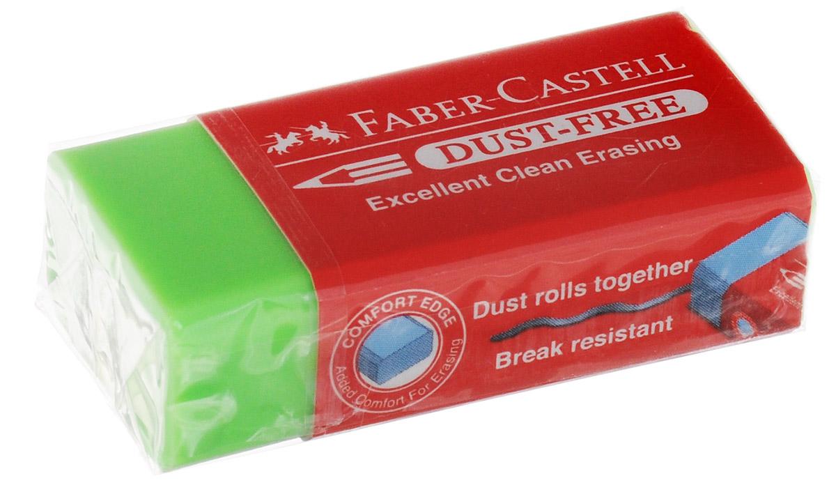 Faber-Castell Ластик Dust-Free цвет салатовый ластик faber castell latex free 7008 40 цвет белый 2 шт