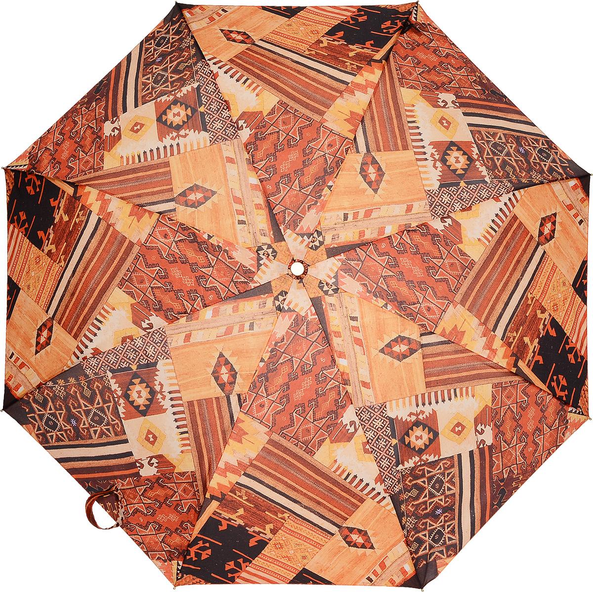 M&P 5867-2 Зонт полный автом. 3 сл. жен. зонты