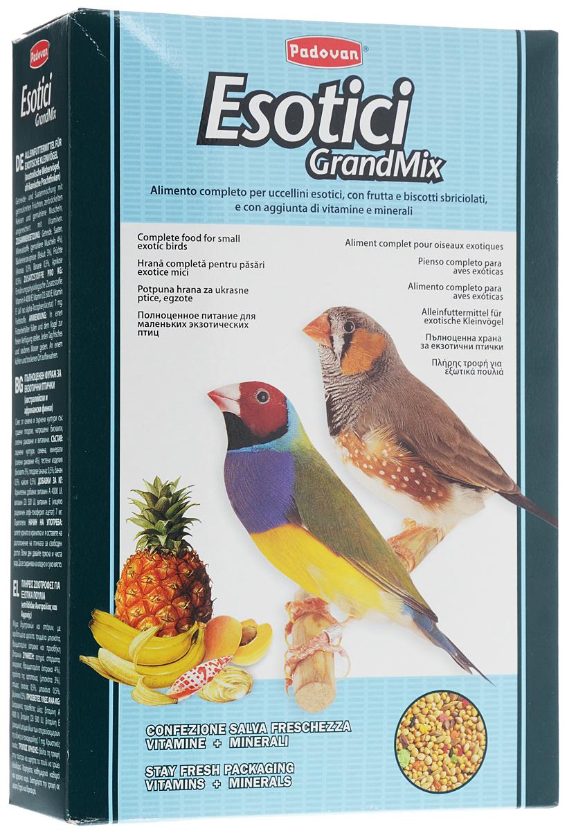 Корм для экзотических птиц Padovan Grandmix Esotici, 1 кг padovan корм padovan granpatee insectes для насекомоядных птиц комплексный с насекомыми 1 кг