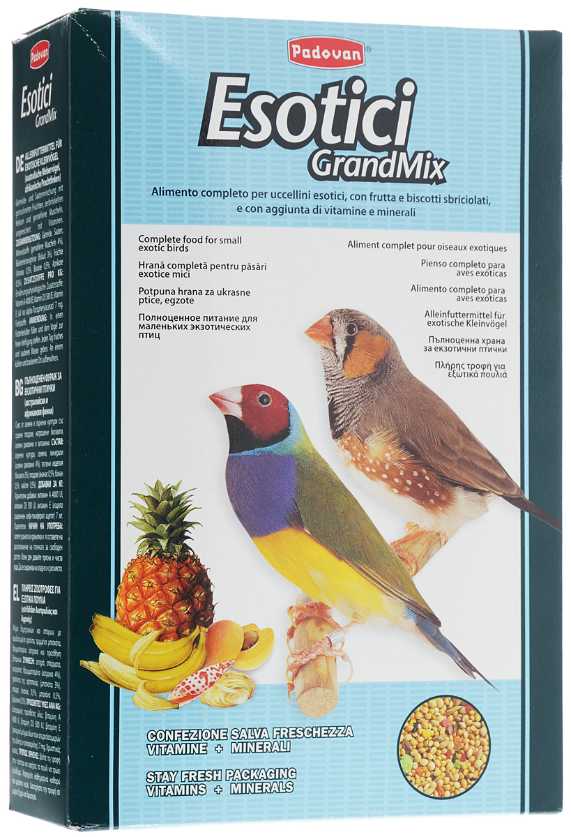 Корм для экзотических птиц Padovan