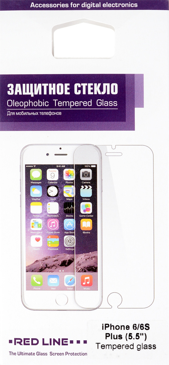 Red Line защитное стекло для iPhone 6 Plus/6s Plus