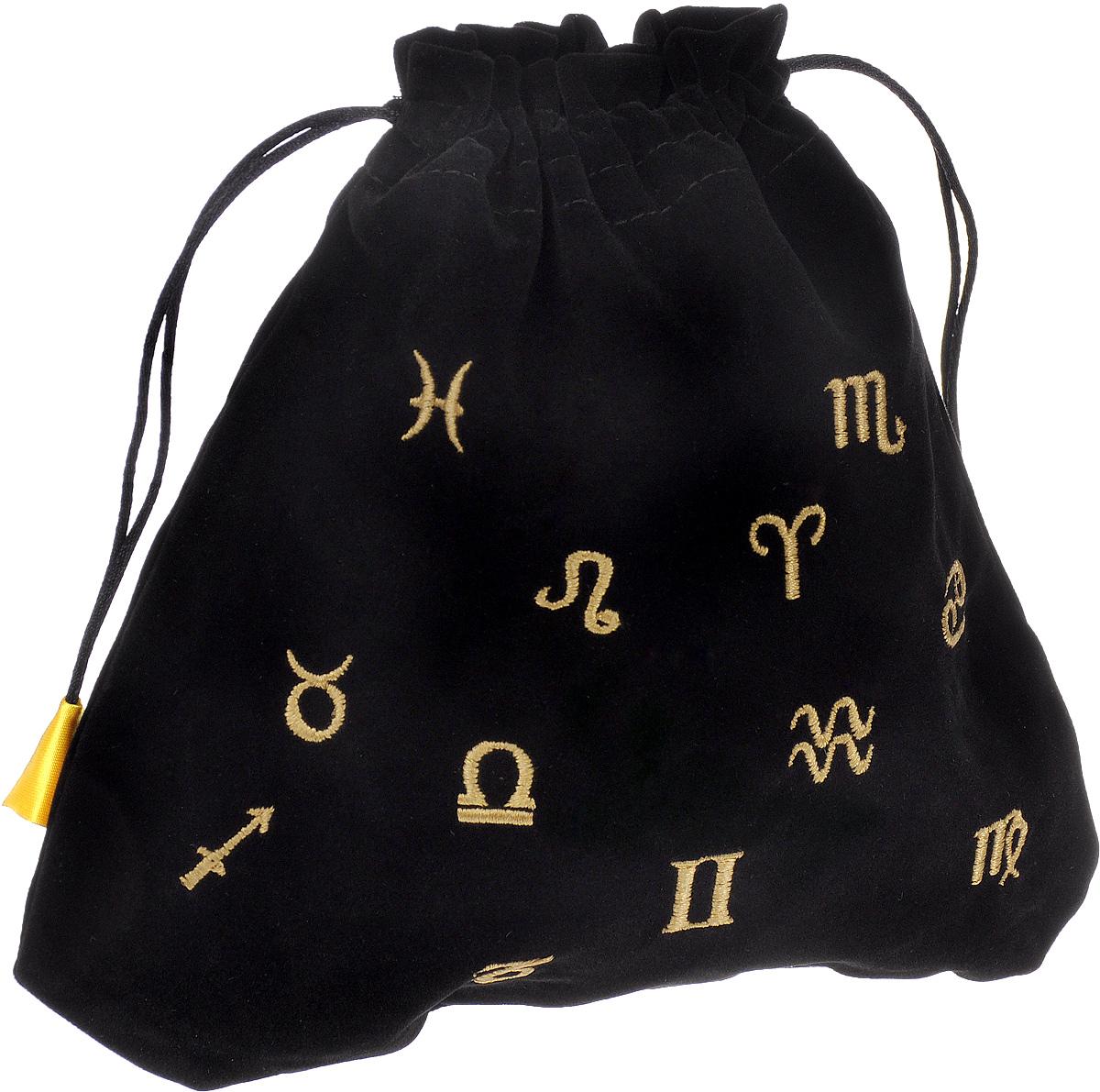 Мешочек для карт Lo Scarabeo Астрологический. BT32 мешочек для карт lo scarabeo кельтский крест bt30