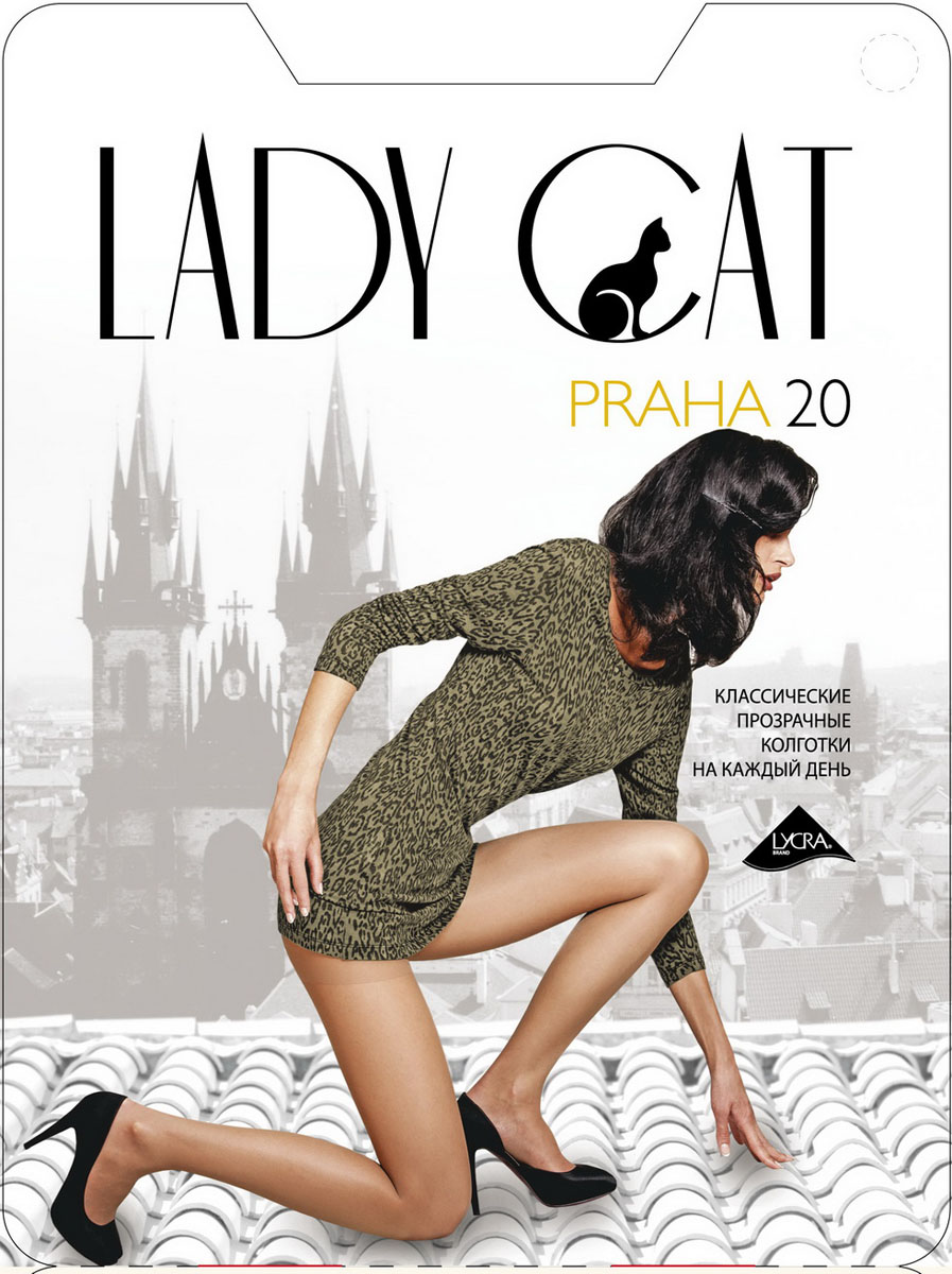 Колготки Lady Cat Praha 20