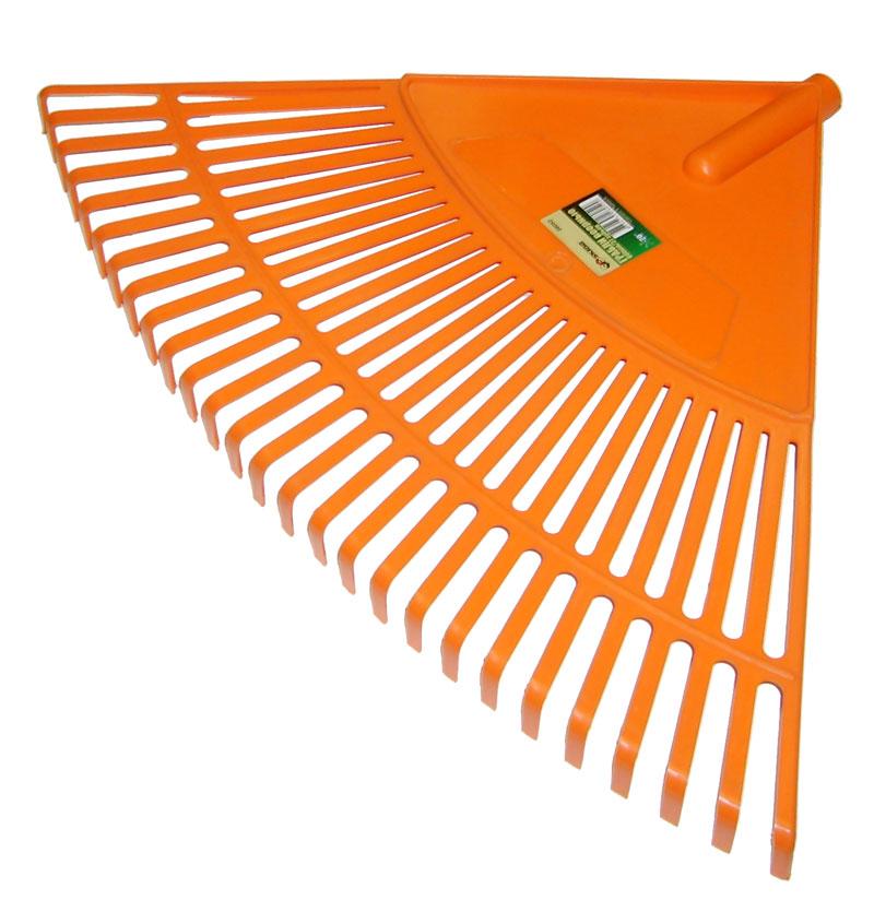 цена на Грабли веерные Skrab, цвет: оранжевый, 27 зубов