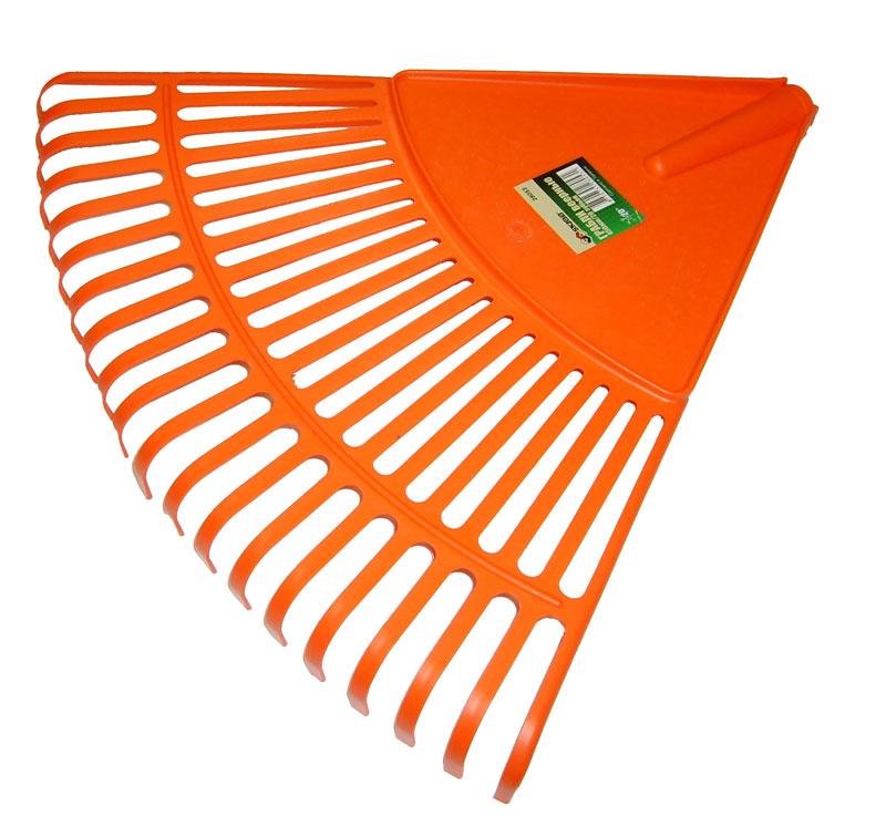 цена на Грабли веерные Skrab, цвет: оранжевый, 20 зубов