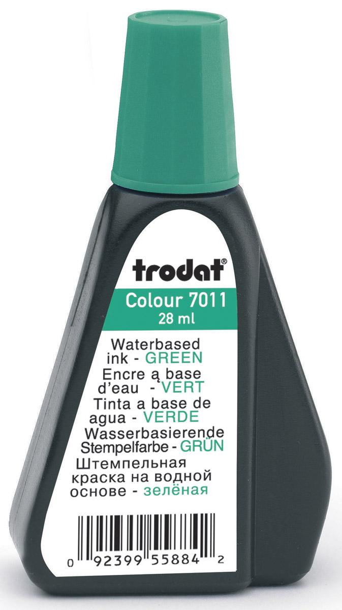 Trodat Штемпельная краска зеленая 28 мл штемпельная краска красная 28 мл 7011к