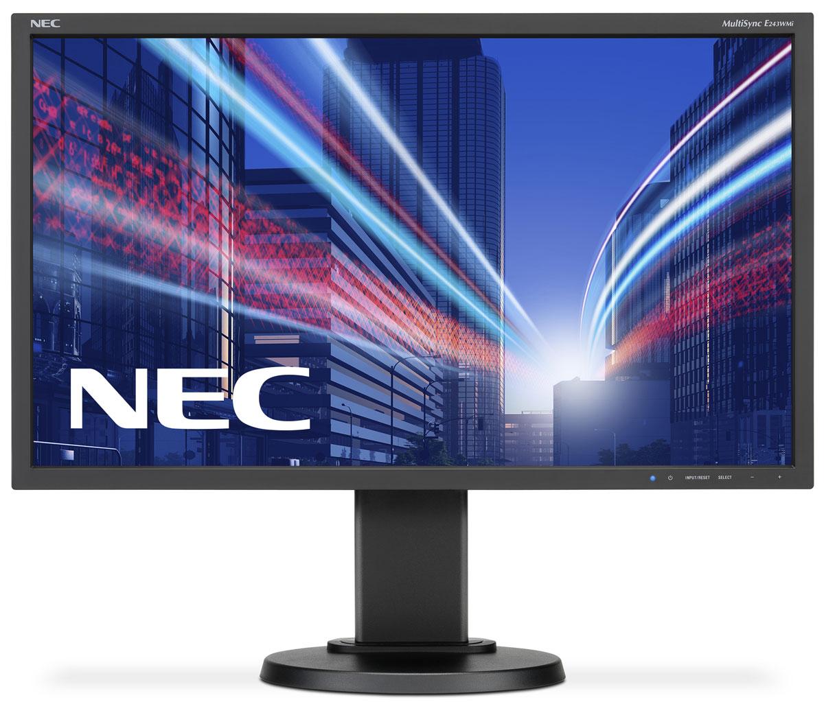 Монитор NEC E243WMi, Black