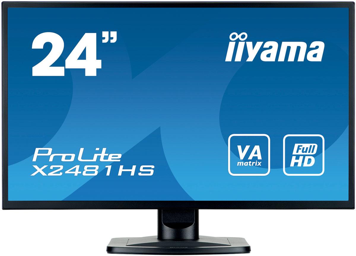 iiyama X2481HS-B1, Black монитор