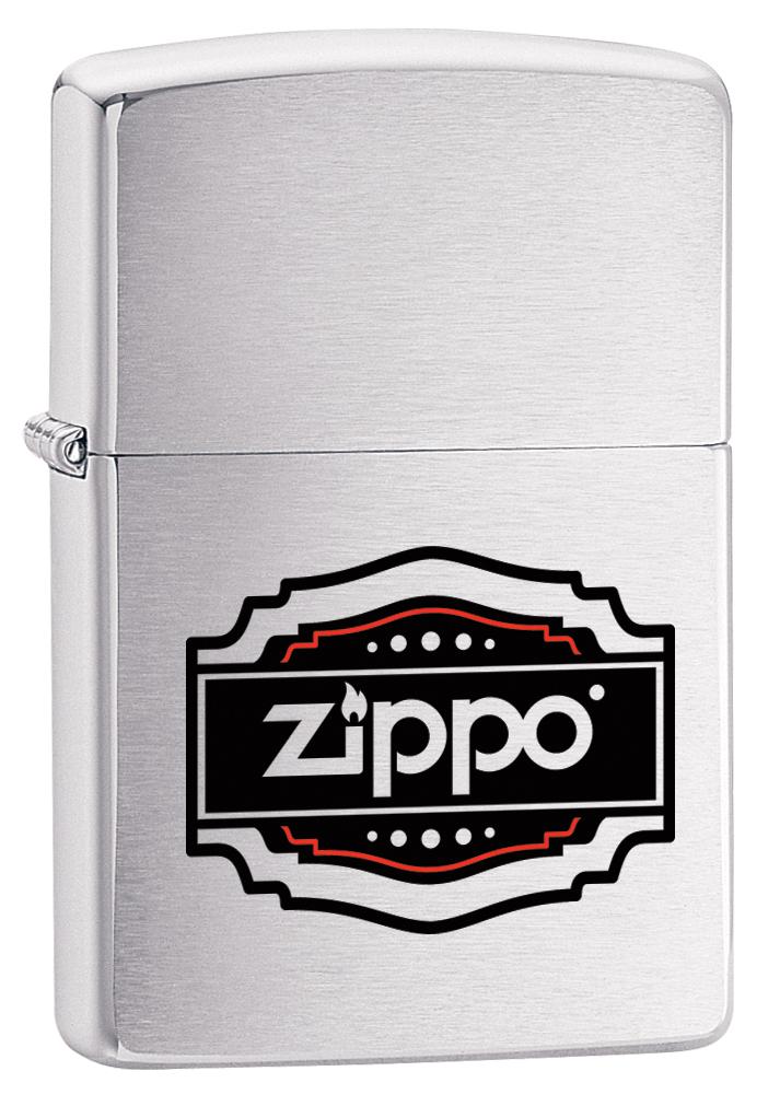 Зажигалка Zippo 200 Vintage, 3,6 х 1,2 х 5,6 см цена