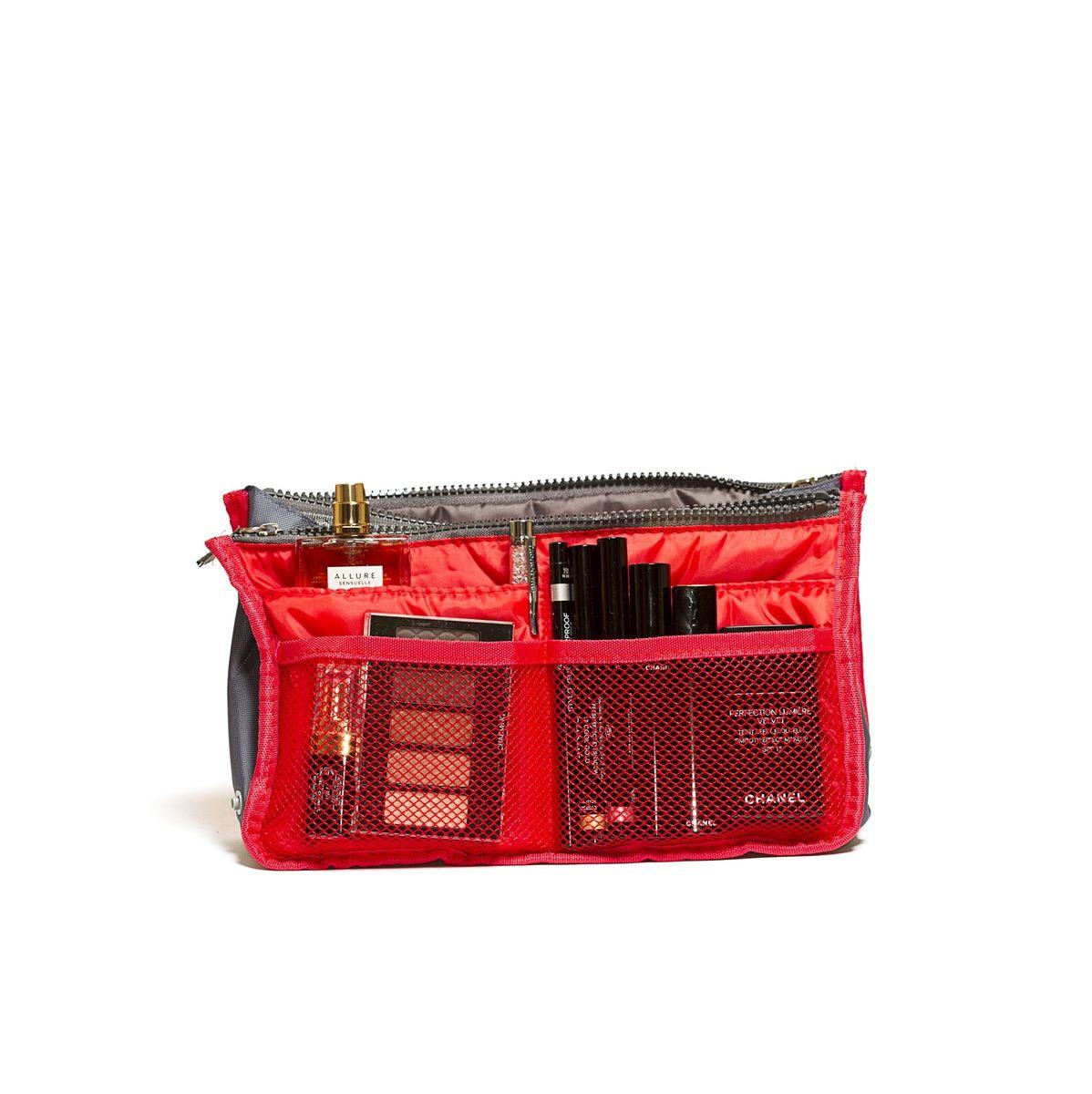 Органайзер для сумки Homsu, цвет: красный, 30 x 8,5 x 18,5 см органайзер homsu цвет бежевый 31 x 24 x 11 см