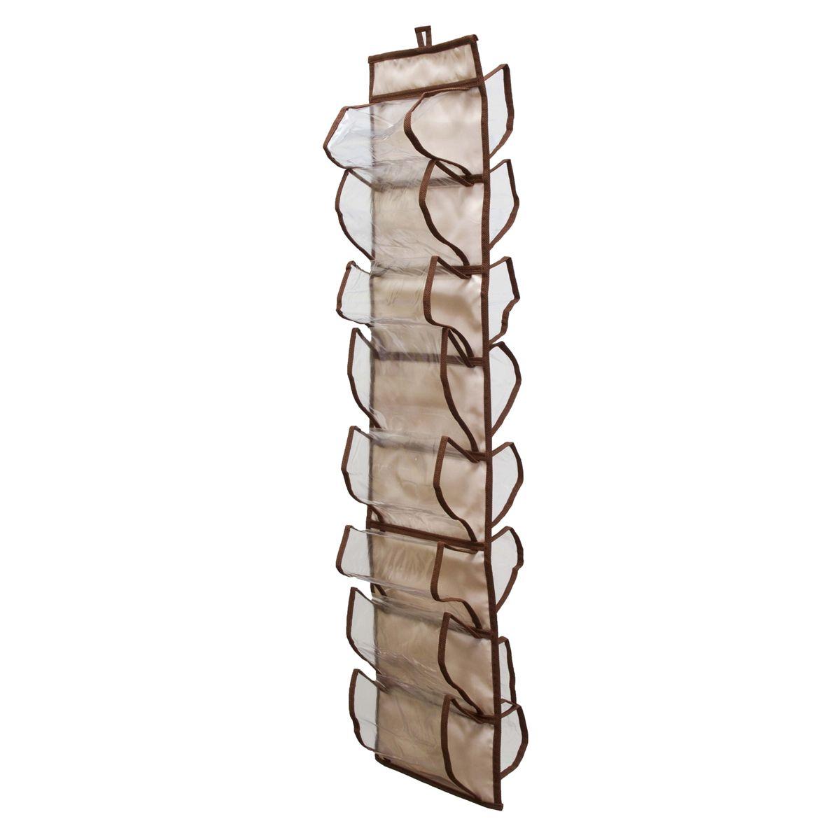 Органайзер для хранения шарфов и мелочей Homsu Bora-Bora, подвесной, 20 х 80 см органайзер для хранения обуви homsu bora bora 52 х 26 х 12 см