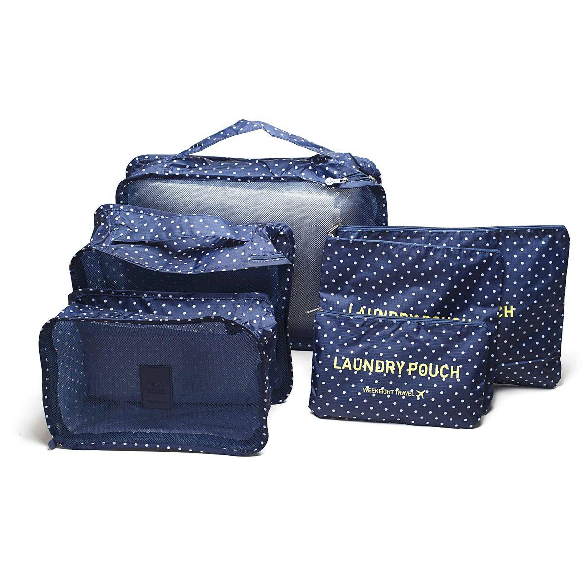 Набор органайзеров для багажа Homsu, 6 предметов набор органайзеров valiant vintage цвет бежевый 18 x 12 x 5 см 12 x 12 x 5 см vn s2p