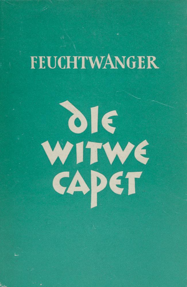 Фейхтвангер Л. Die Witwe Capet