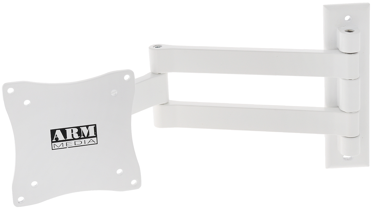 ТВ Кронштейн Arm media LCD-7101 white (10082) кронштейн arm media lcd 7101 до 15кг white