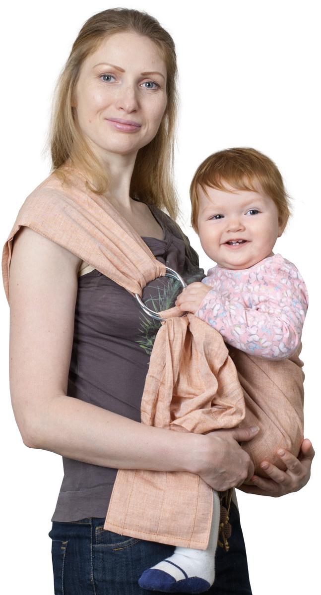 цены на Чудо-Чадо Слинг с кольцами Ноктюрн цвет медный Размер M (48-54)  в интернет-магазинах