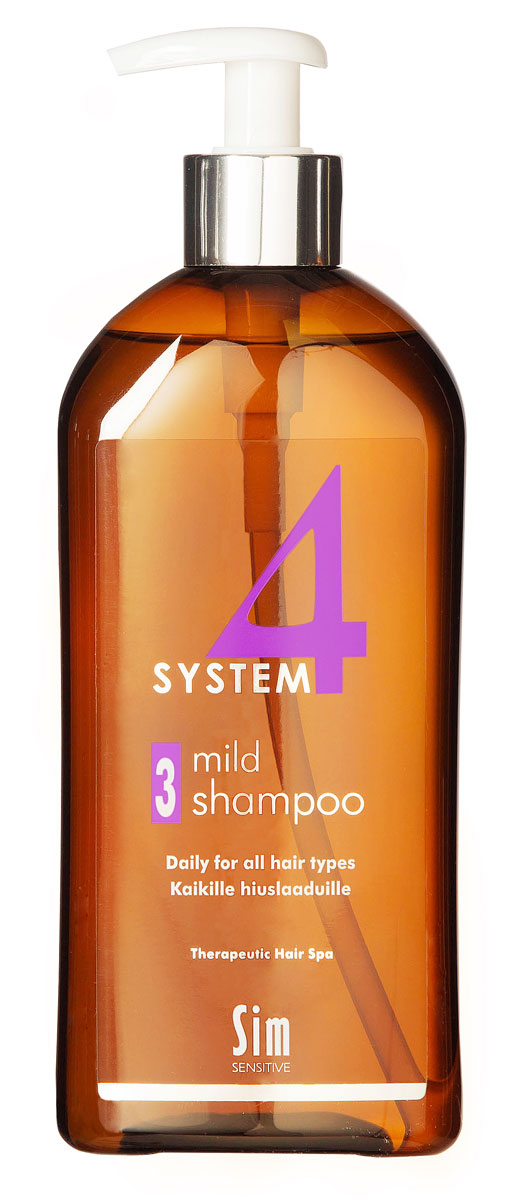 SIM SENSITIVE Терапевтический шампунь №3 SYSTEM 4 Mild Climbazole Shampoo 3 , 500 мл