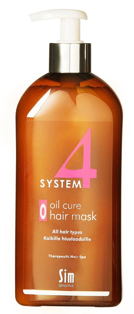 "SIM SENSITIVE Терапевтическая маска ""О"" SYSTEM 4 Oil Cure Hair Mask ""O"" , 500 мл"