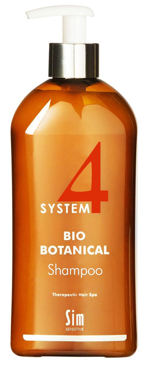 SIM SENSITIVE Био Ботанический Шампунь SYSTEM 4 Bio Botanical Shampoo, 500 мл