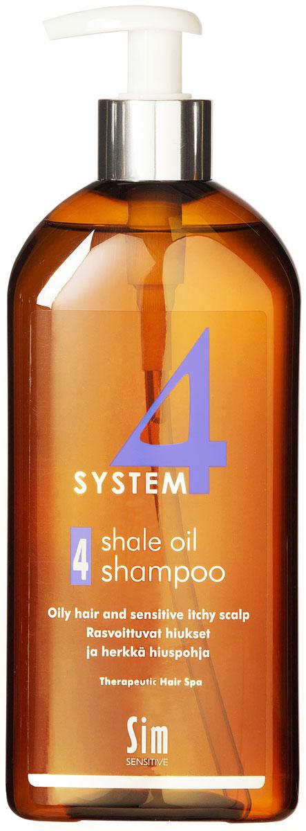 SIM SENSITIVE Терапевтический шампунь № 4 SYSTEM 4 Shale Oil Shampoo 4 , 500 мл