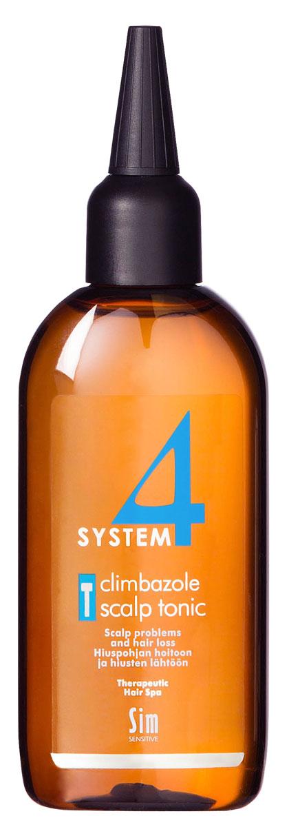 Sim Sensitive Терапевтический тоник Т SYSTEM 4 Climbazole Scalp Tonic Т, 100 мл бальзам для волос sim sensitive sim sensitive si024lwbl367
