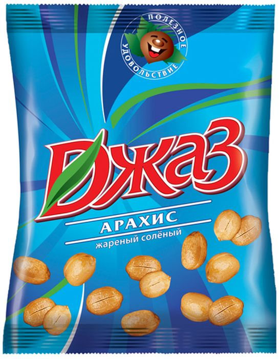 Джаз арахис жареный соленый, 40 г цена в Москве и Питере