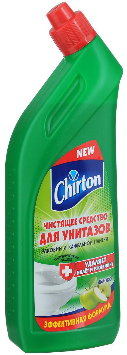 Чистящее средство для унитазов Chirton Яблоко, 750 мл средство чистящее для унитазов meule 750 мл