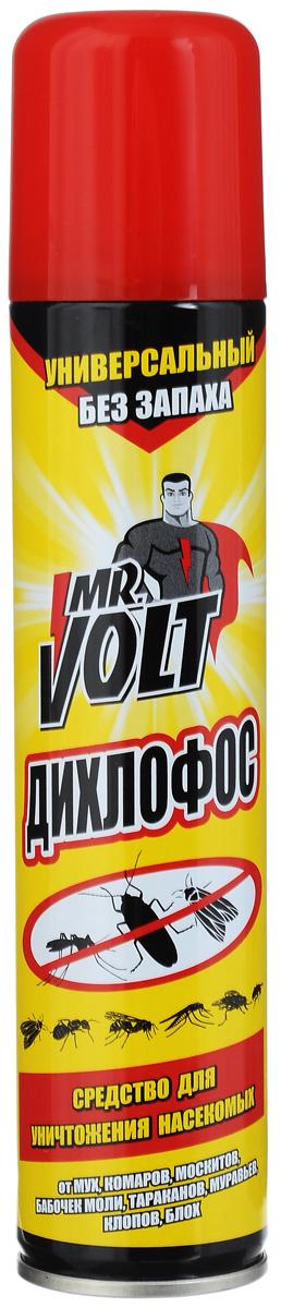 Средство инсектицидное Mr. Volt Дихлофос, без запаха, 200 мл средство от насекомых дихлофос нео 190 мл от летающих и ползающих насекомых