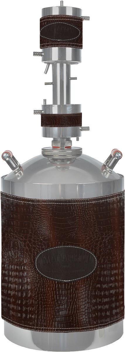Дистиллятор бытовой Магарыч Машковского БККР 20, Brown Leather дистиллятор чзбт магарыч 20л премиум т бк