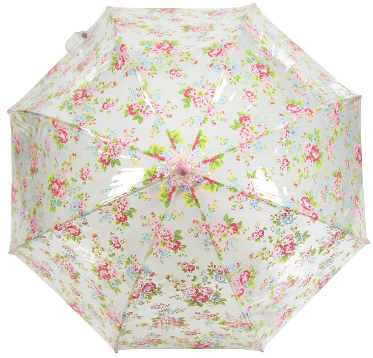 Зонт детский Fulton, расцветка: расцветкаы. C723-2657 SprayFlowers