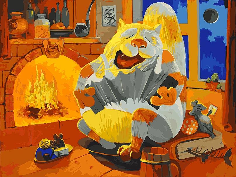 Живопись на холсте Белоснежка Василич, 30 х 40 см набор для творчества белоснежка живопись на холсте 30 40см свидание 775 as